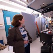 Margaret Murnane in lab