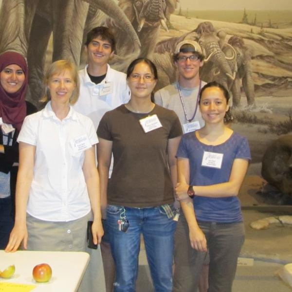 2012 SwaS team: Latifa, Stacey, Dylan, Angelica, Jay, and Julia