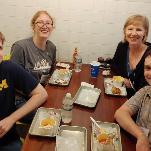 Wherein Stacey talks postdocs into going for grilled cheeses in Providence