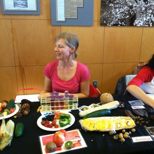 Outreach at the Apple Jack Festival, Nebraska City, September 15, 2012