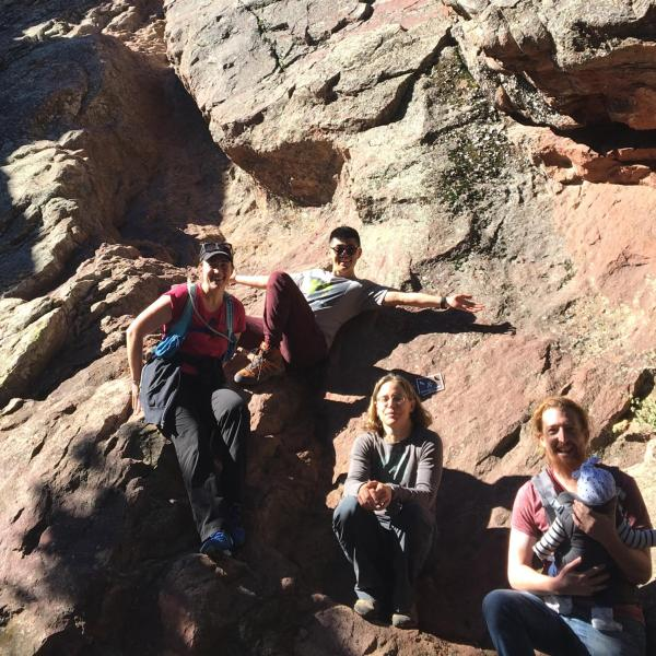 Hiking with Emma Goldberg!