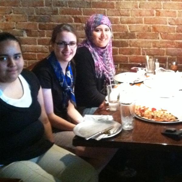 End of a great summer with Daisy, Rachel, Latifa, Jackie and Julia, 2013