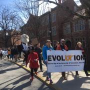 Evolution parade