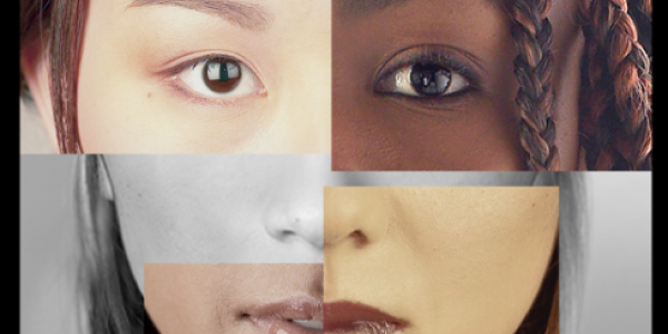collage of faces with different ethnicity