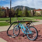 Bike, flatirons & campus
