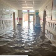 flood in school