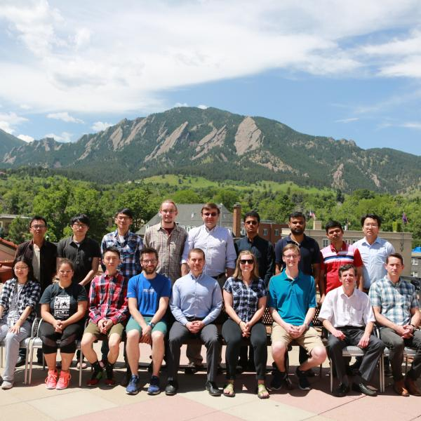 Group at the top of CU UMC in June of 2018