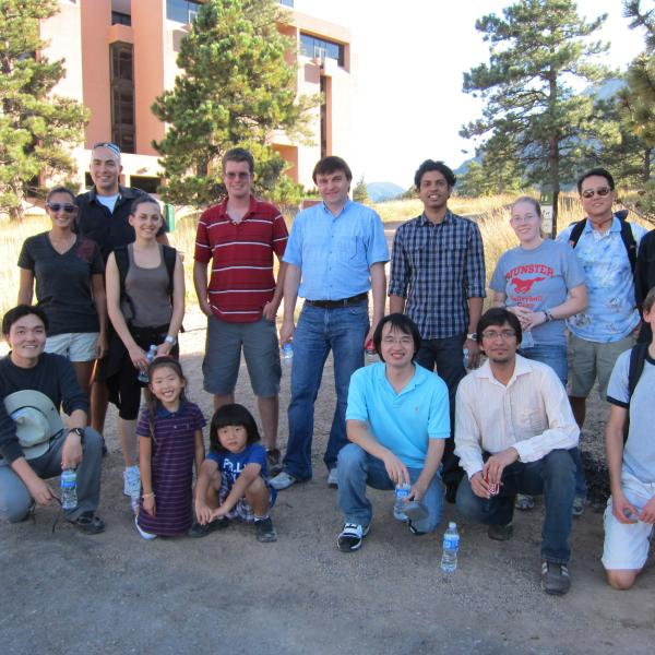 at the NCAR during a group hike in 2010