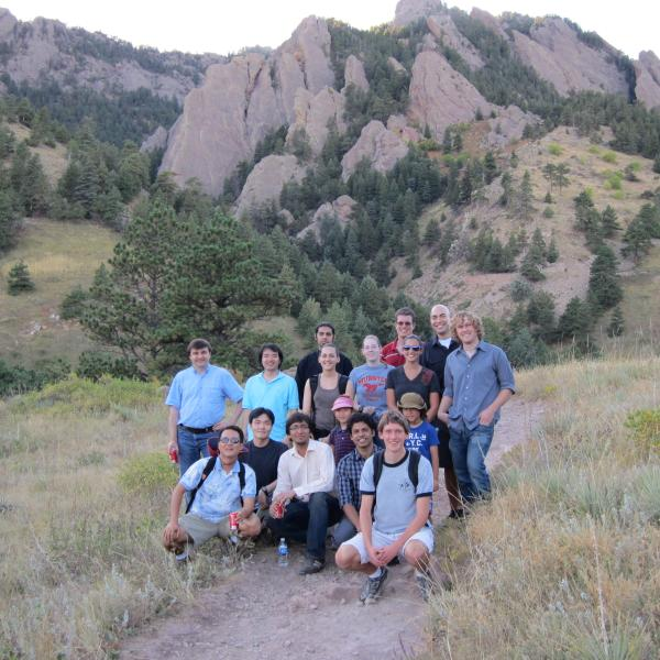 lost in the wilderness during a group hike in 2010