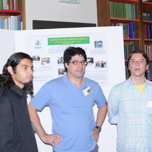 Group members at the LC2CAM workshop in Boulder in 2008