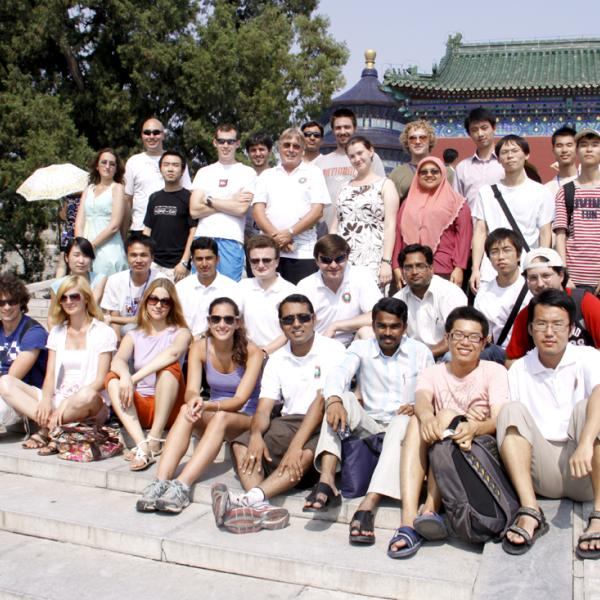 Group and other attendees in Beijing during the I-CAMP 2009 in China