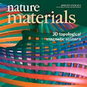 2017 Nature Materials cover