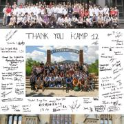 I-CAMP 2012 Thank you note