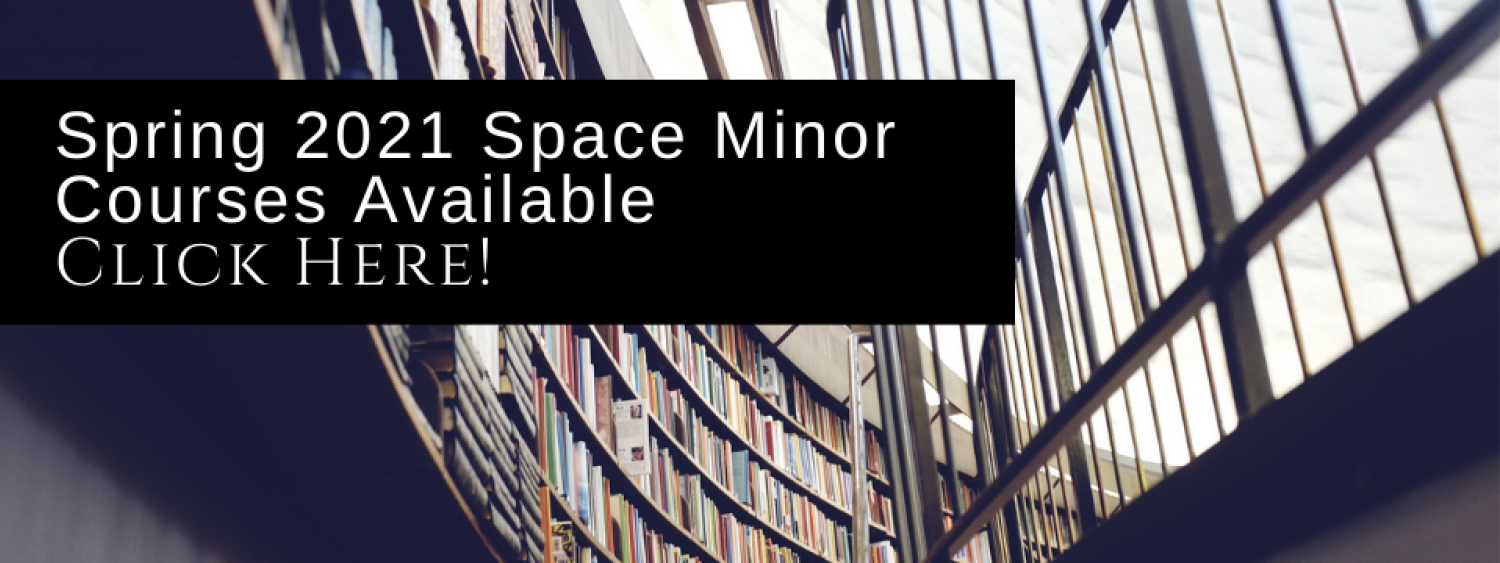 Spring 2021 Space Minor Courses Available