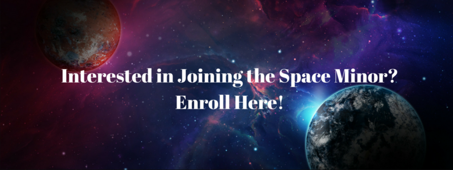 Enroll in the Space Minor