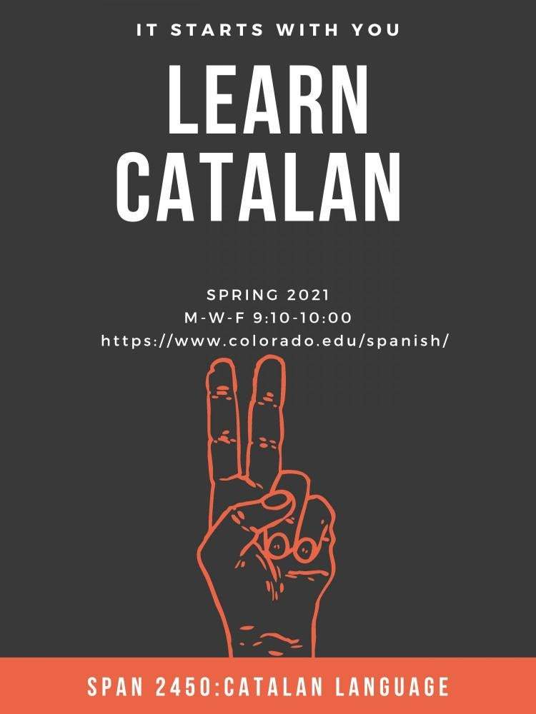 catalan poster