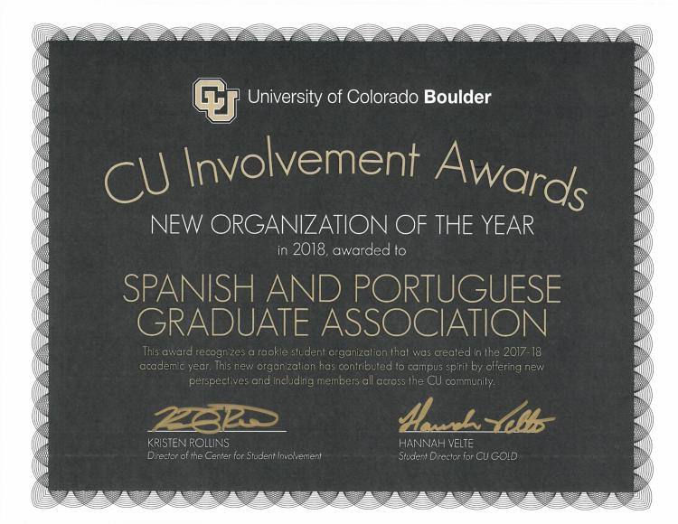 Cu involvement award