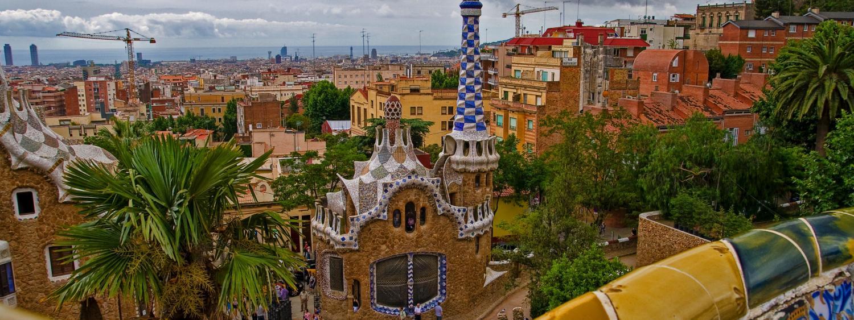 Parc Güell Barcelona - Gaudi Architecture
