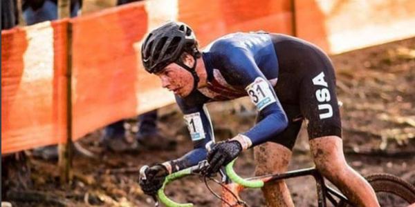 CU Buff Maxx Chance riding at World Championships