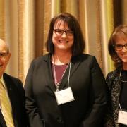Chancellor DiStefano, COO Fox and CFO Carrothers