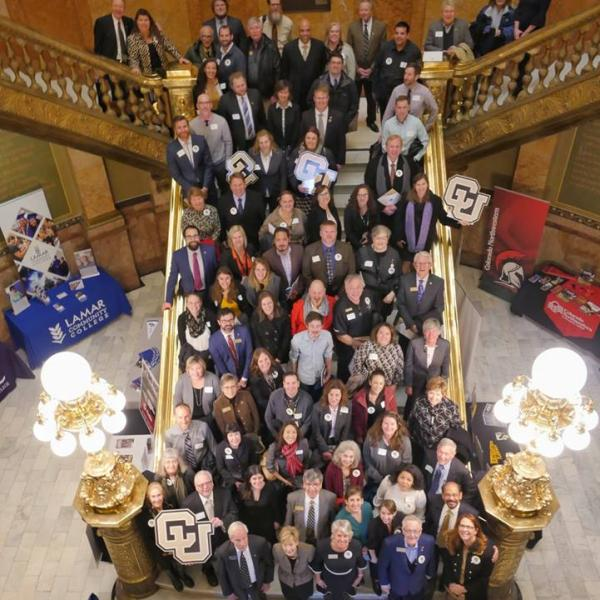 CU Advocacy Day All Group Photo