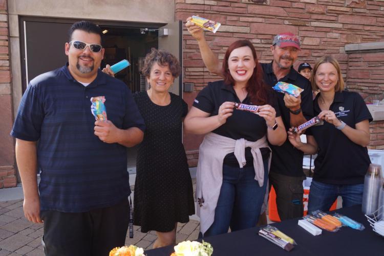 SC Reps at 2018 Ice Cream Social
