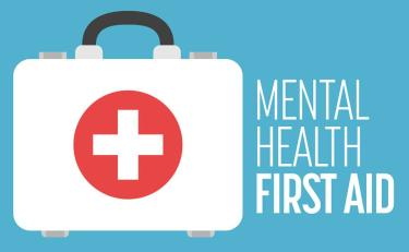 Mental Health First Aid Graphic