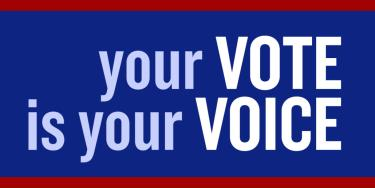 Your vote is your voice image