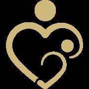 gold parent child symbol