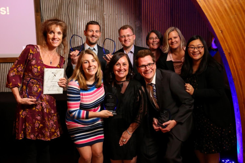 SRC staff at PRSA Awards