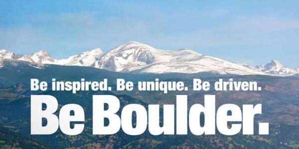 Be Boulder Poster