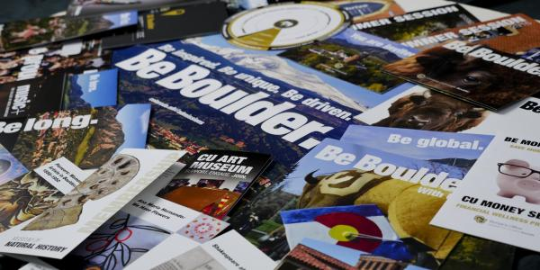 Printed CU Boulder publications