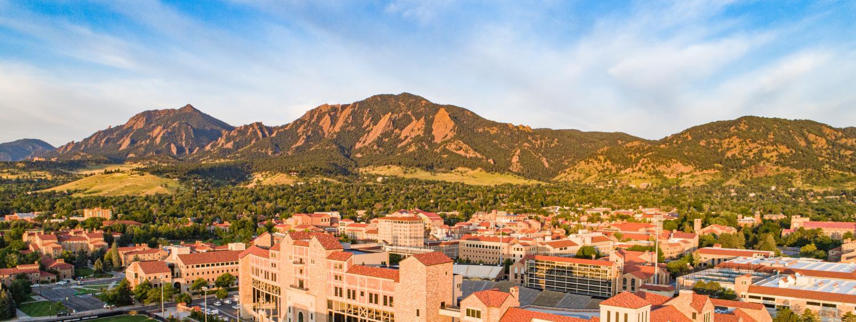 Campus aerial panorama