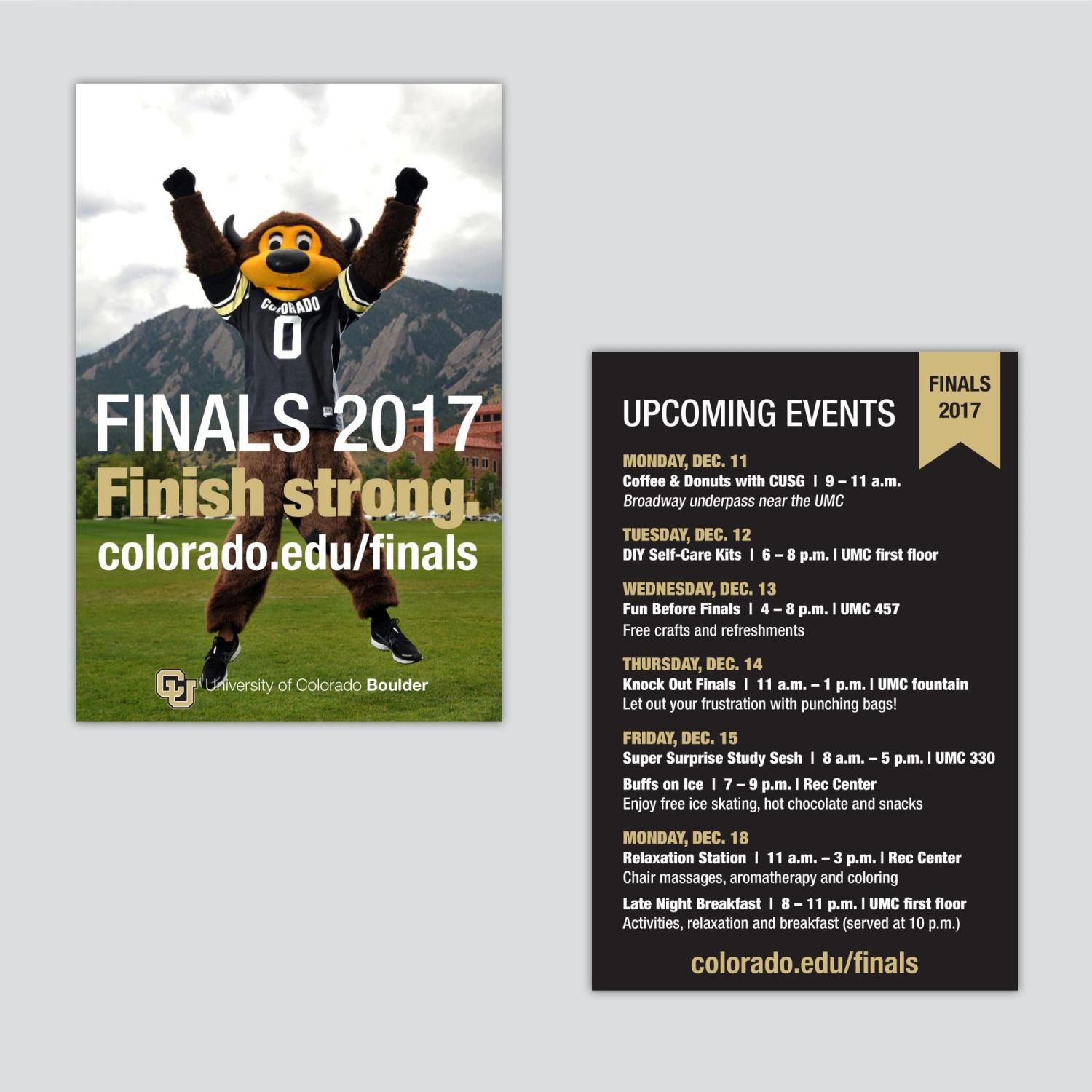 Finals | Division of Student Affairs | University of
