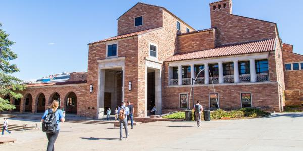 Exterior view of the University Memorial Center