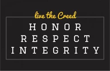 Live the creed graphic