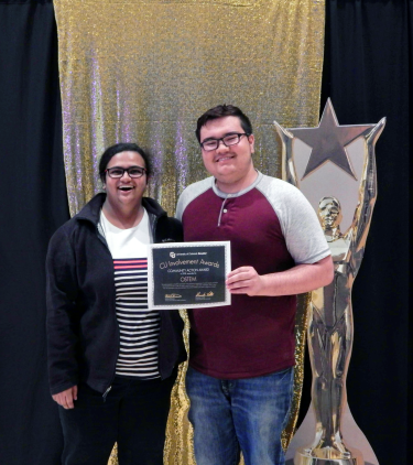 CU Involvement awards 2018