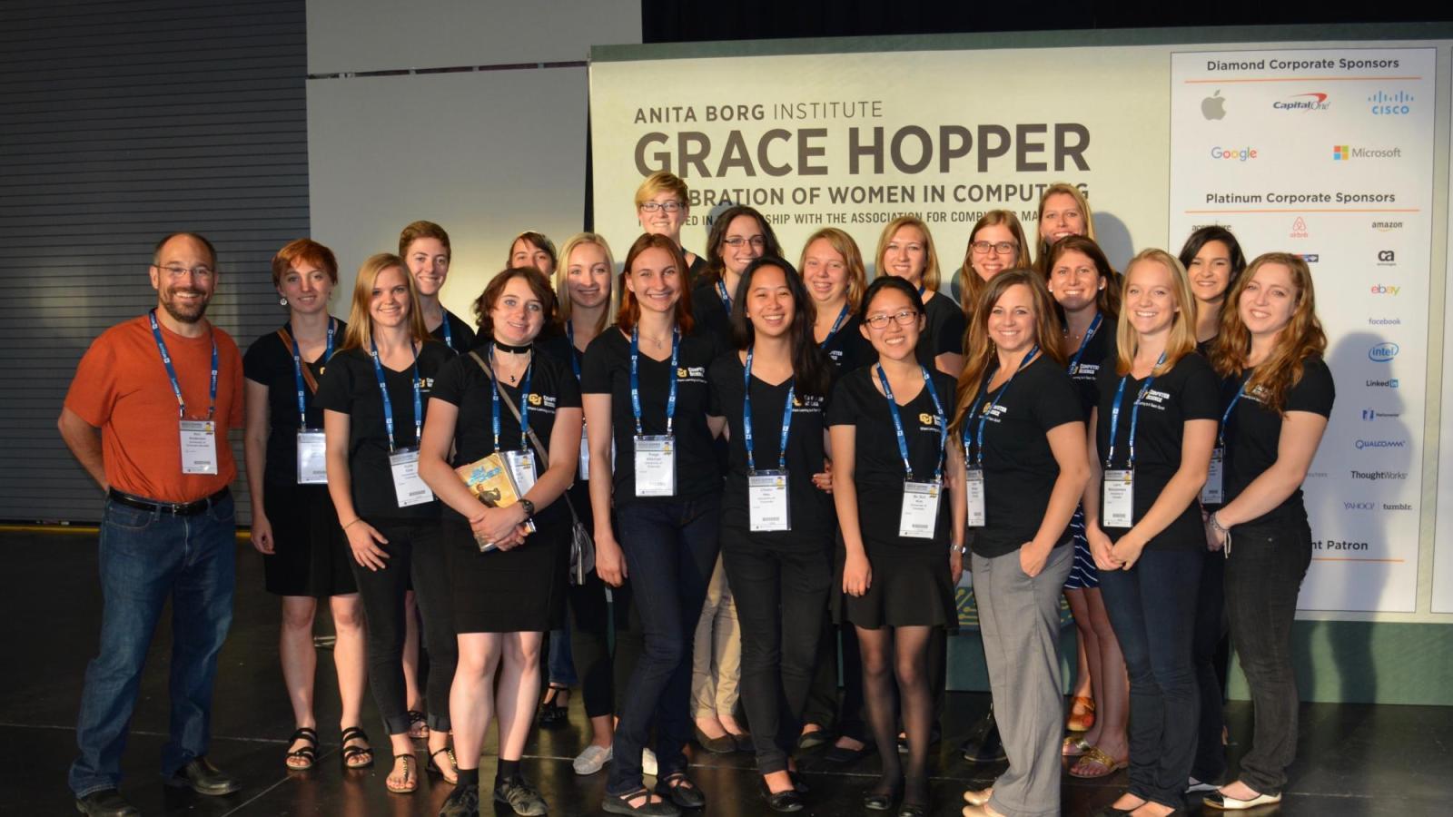 Grace Hopper Conference Photo