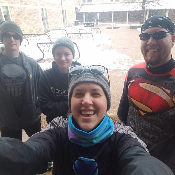 Charity run, CU Boulder