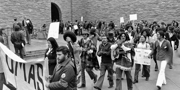 UMAS March to Regents 1973