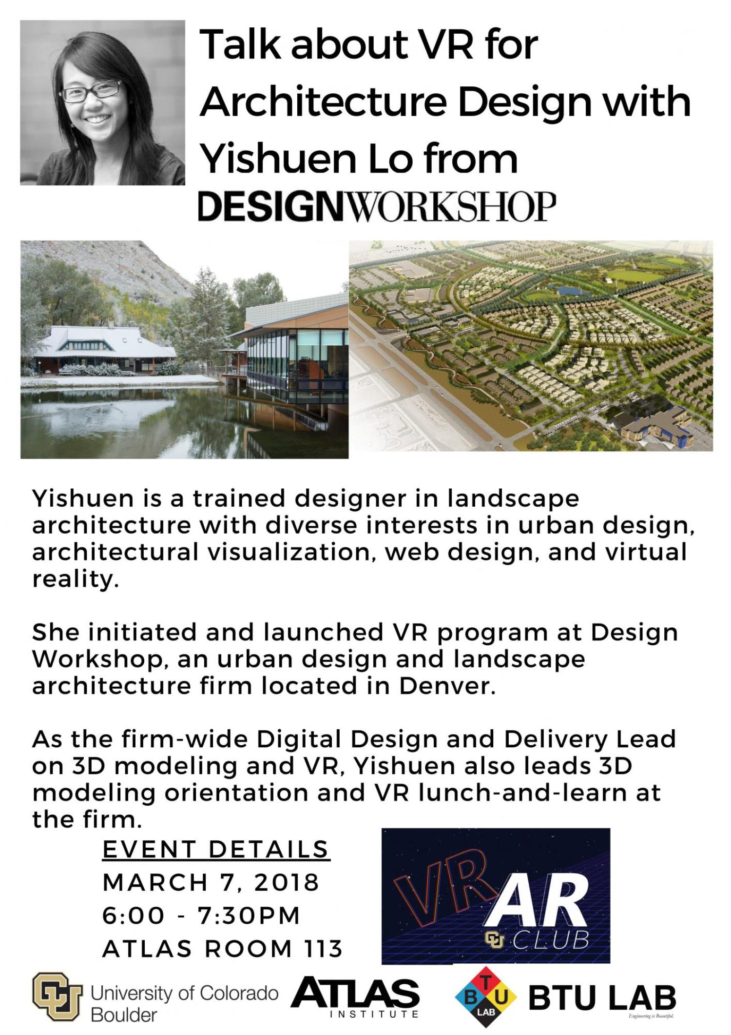 VR Architecture talk with Yisheun Lo from Design Workshop
