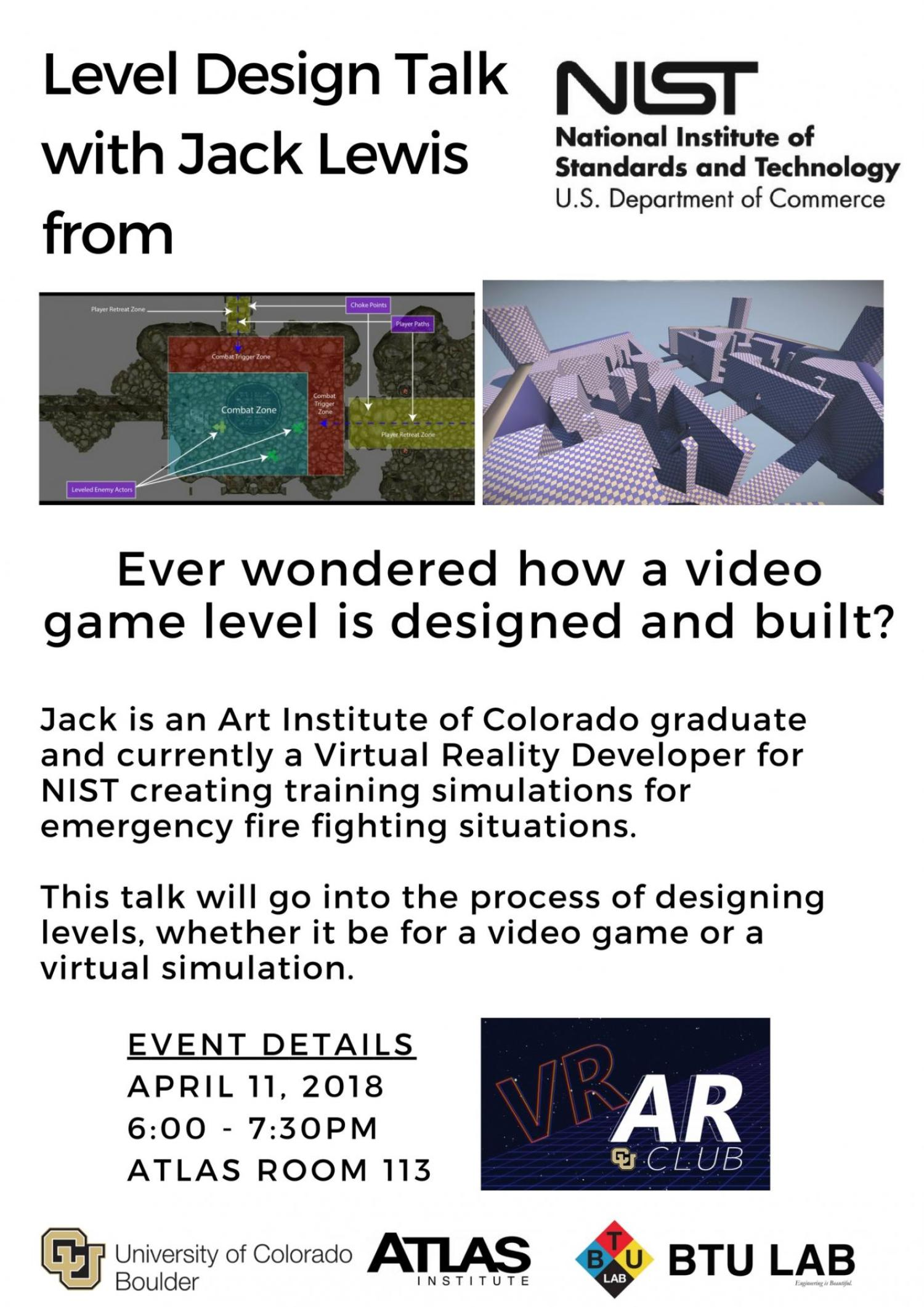 Level design with Jack Lewis from NIST
