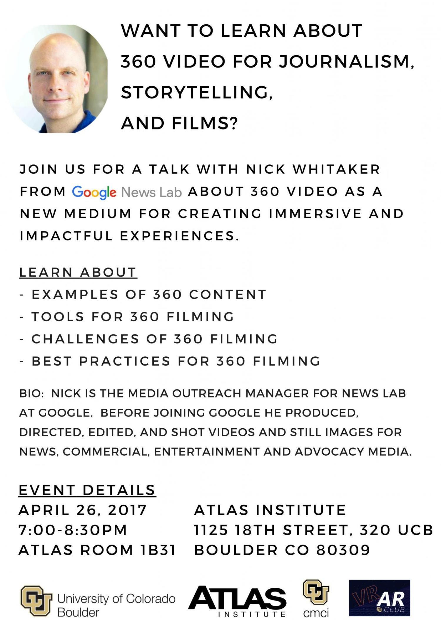 Nick Whitaker Talk