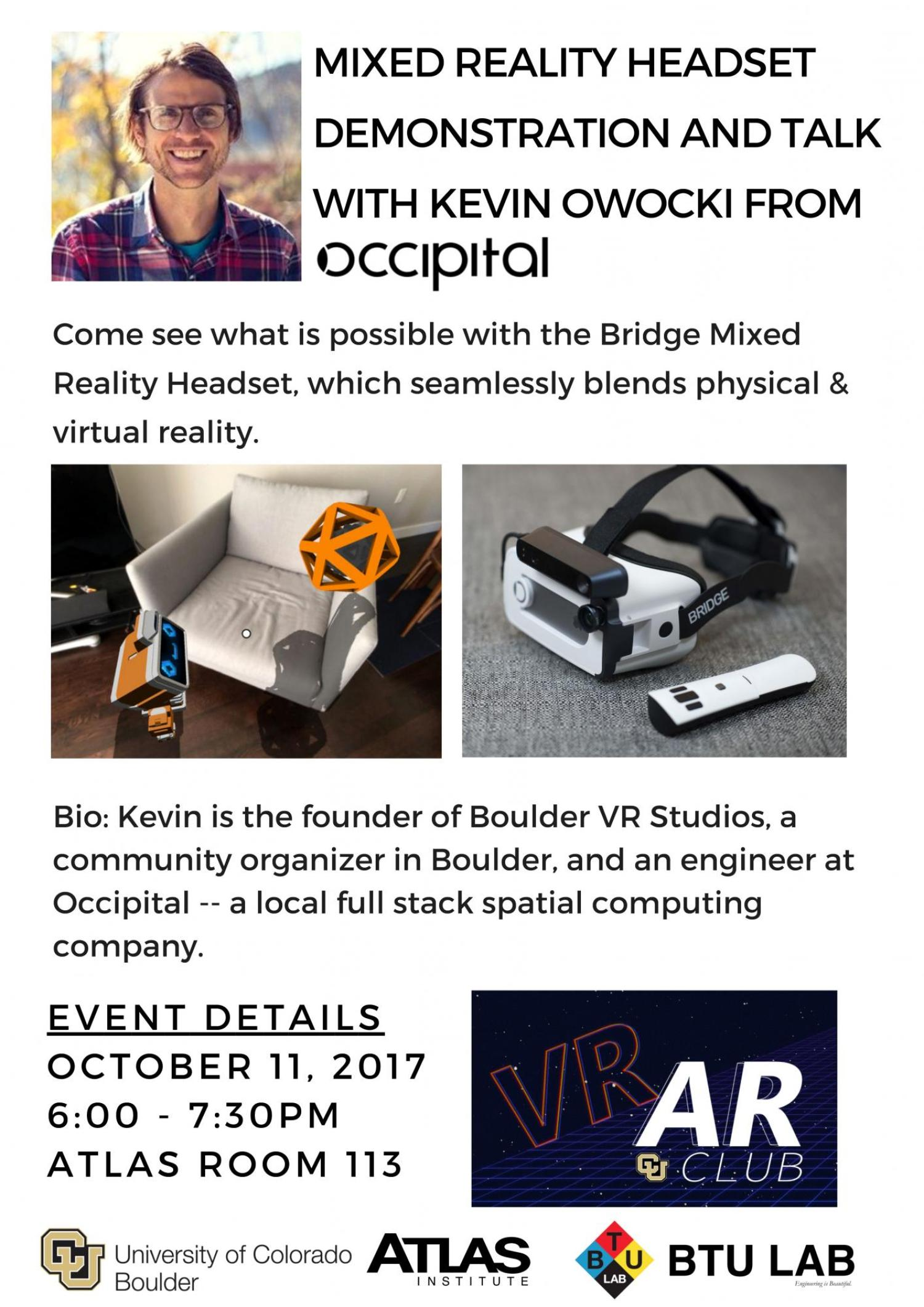 Occipital Kevin Owocki talk