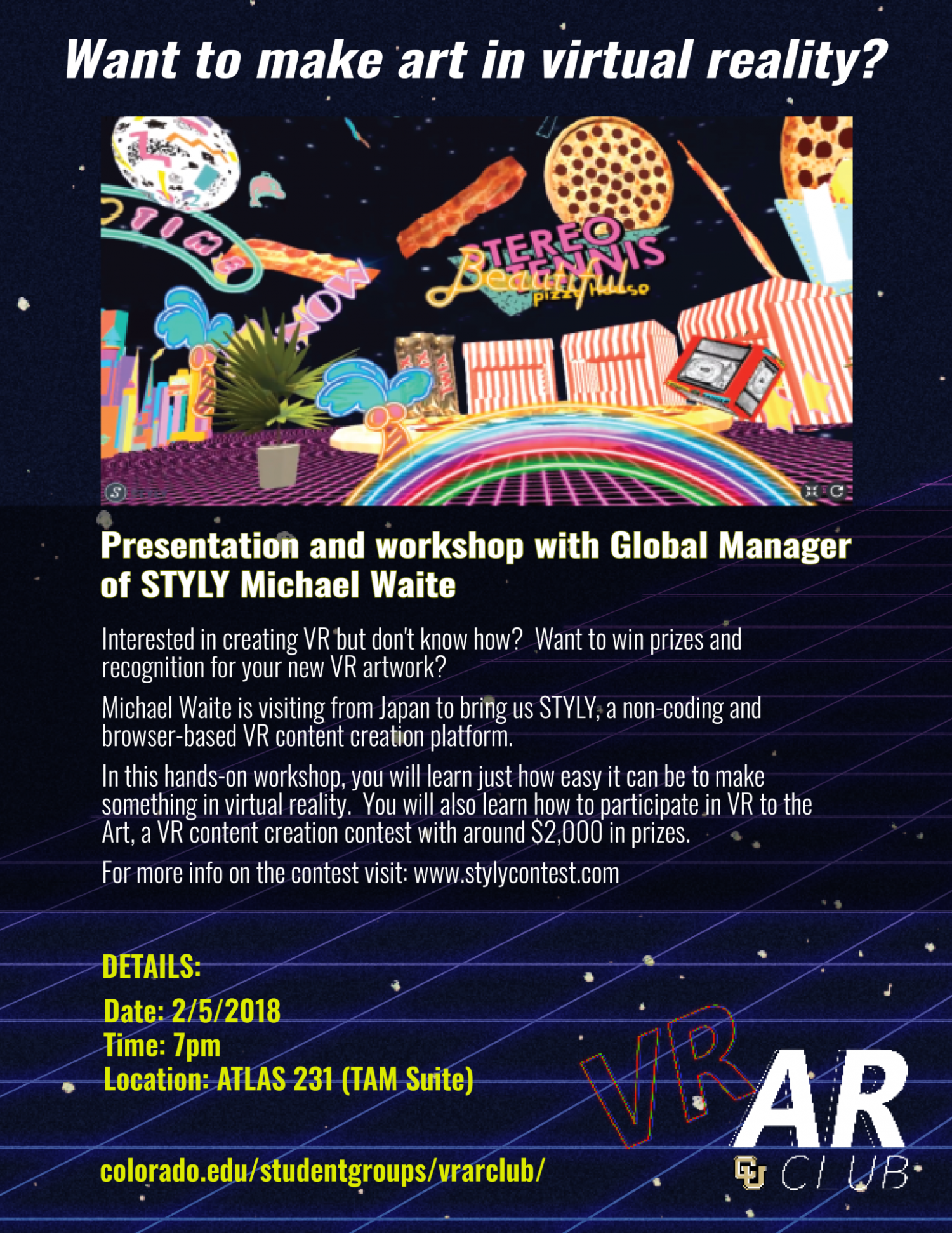 STYLY Workshop with Michael Waite