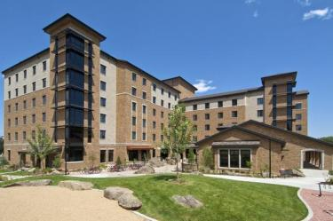 CU-Boulder's LEED platinum Williams Village North residence hall. Photo by John Robledo Foto.