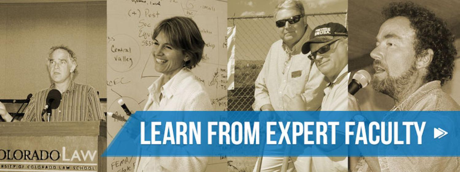 Montage of Instructors: Learn from Expert Faculty
