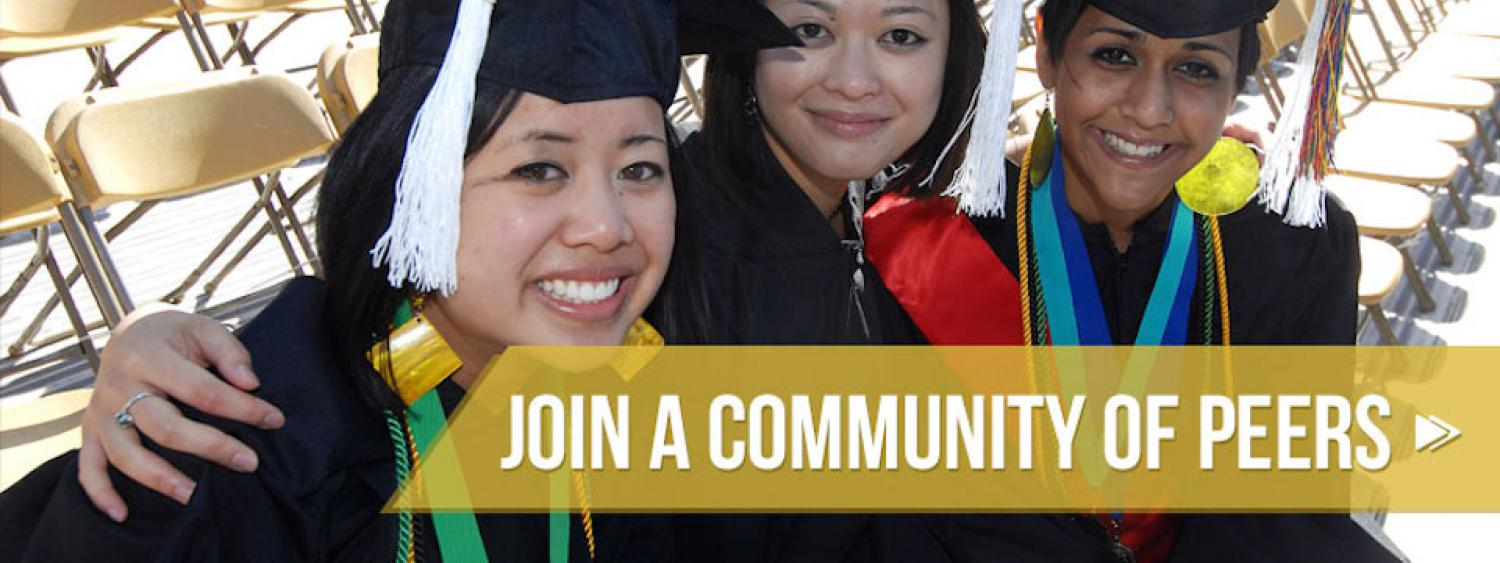 Graduating students: Join a Community of Peers