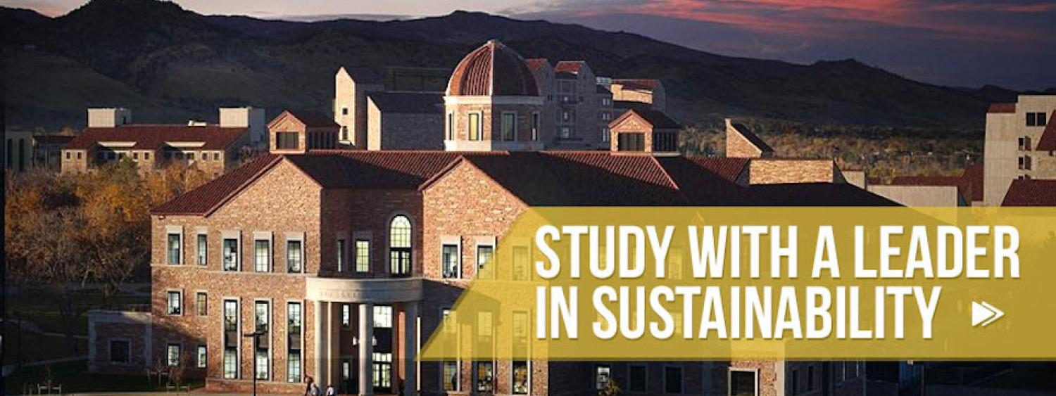 Campus Building: Study with a Leader in Sustainability
