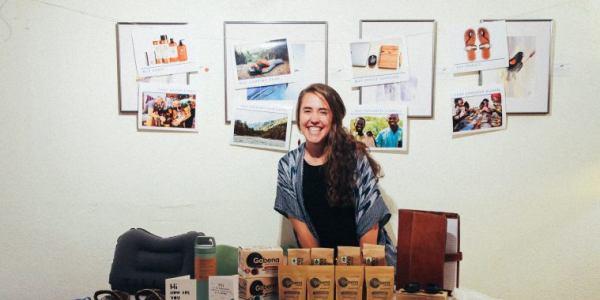 Rachel Kois and some of her positive impact products